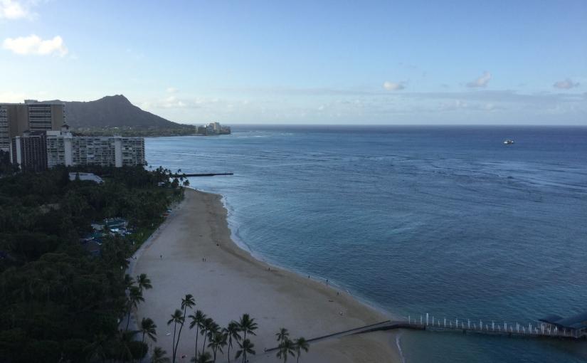 Kraftkälla rapporterar från konferensresa påHawaii